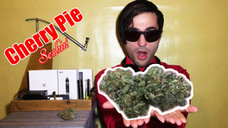 Red Eyed Widow: Cherry Pie Strain Review (Mainly Seshin')