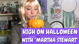 Martha Stewart Shows You How to Make a Pumpkin Bong and Gourd Pipe