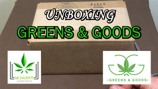 Unboxing! - My Package From GREENS & GOODS - Mail Order Marijuana