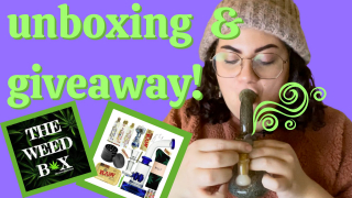 The Weed Box - Unboxing and Giveaway!