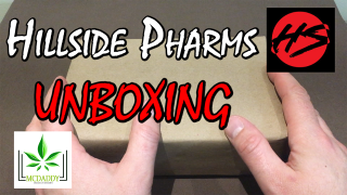 Unboxing! - My Package From HILLSIDE PHARMS - Mail Order Marijuana