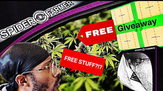 SPIDER FARMER &  GROWING KUSH FREE GIVEAWAY!