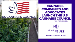 Cannabis Companies and Advocates Launch The U.S. Cannabis Council   TRICHOMES Morning Buzz