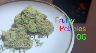 NJ Medical Dispensary Strain Review: Fruity Pebbles OG (Harmony Dispensary, Secaucus NJ)