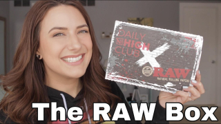 DAILY HIGH CLUB x RAW 2021 Collab Box + testing out everything!