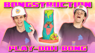Dak is a kid again! // BONGSTRUCTION: Play-Doh Bong